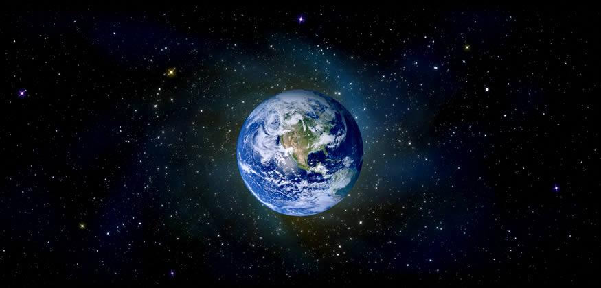 Colisión de un asteroide con la Tierra