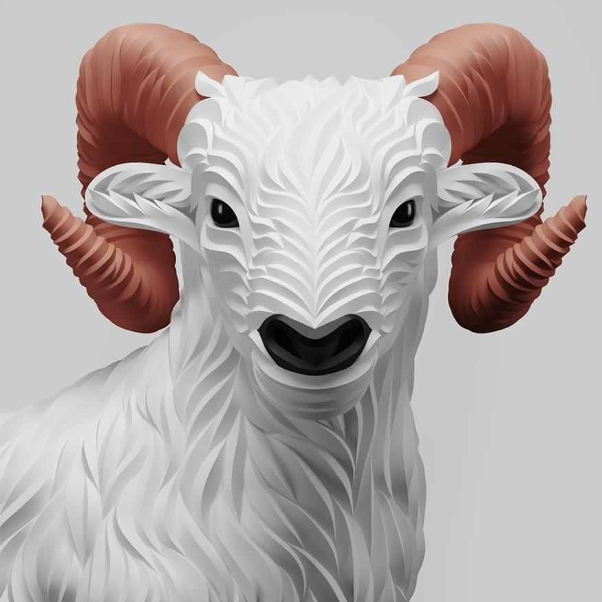 ilustra-cabras-cuernos