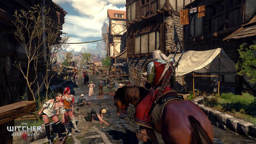 The witcher 3 wild hunt - gameplay