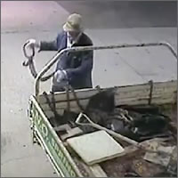 Intento de robo en una gasolinera