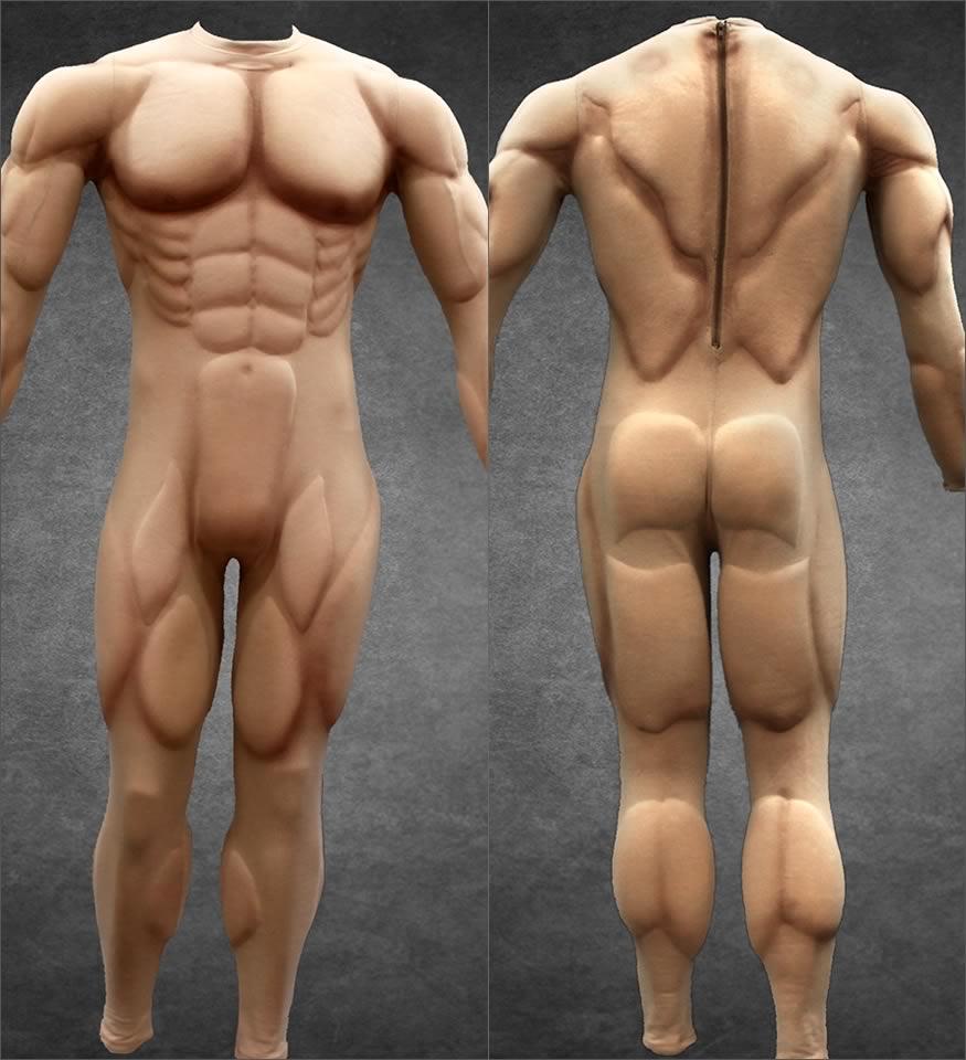 Disfraces musculosos
