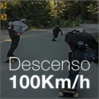Skaters descendiendo a 100km/h