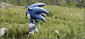 Sonic corriendo en Unreal Engine 4