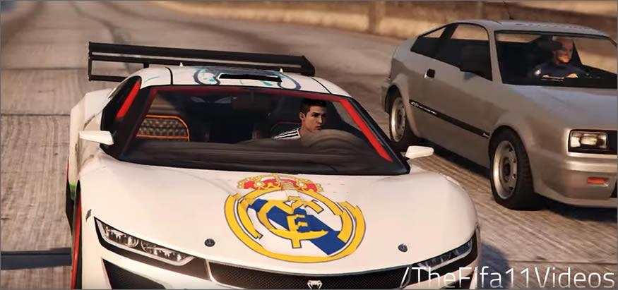 Cristiano Ronaldo en el GTA V