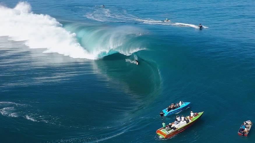 Teahupo'o, las olas más temidas