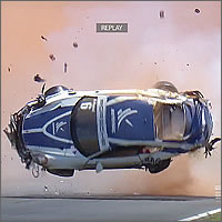 Accidente de Pedro Piquet