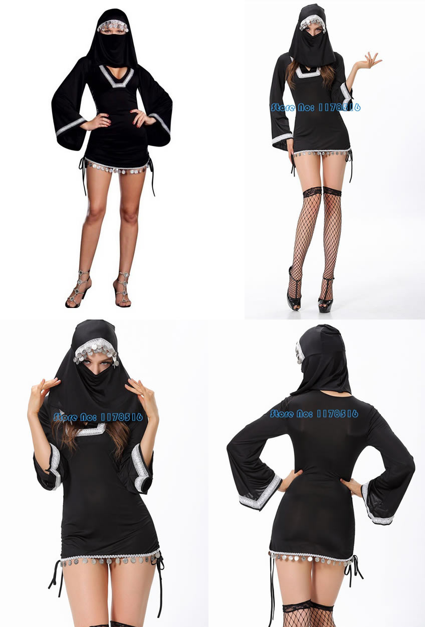 Disfraz de burka sexy