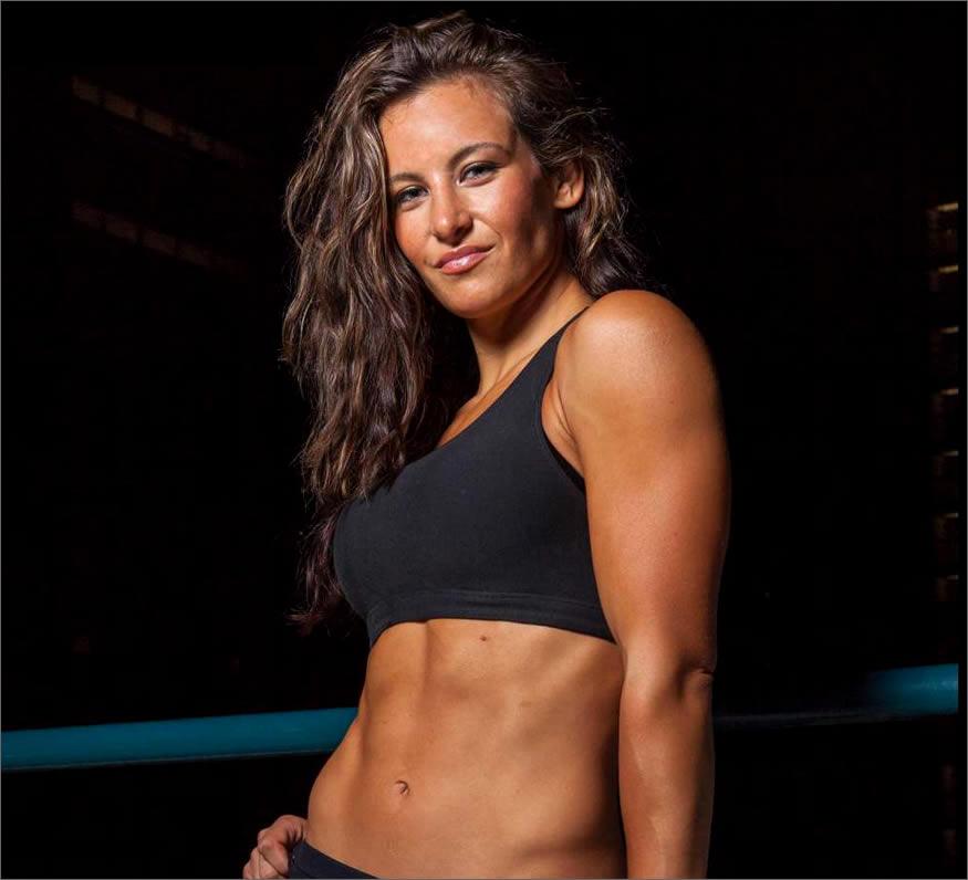 luchadora de UFC