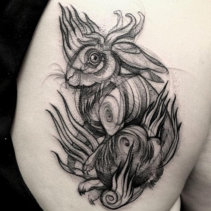 conejo-tattoo