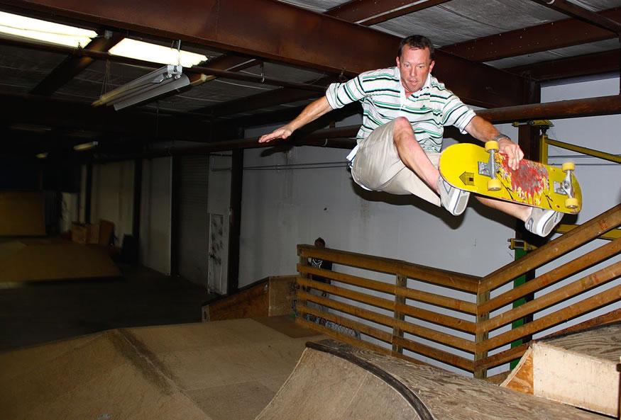 Papá skater