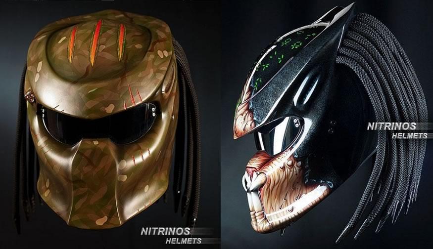 cascos de predator