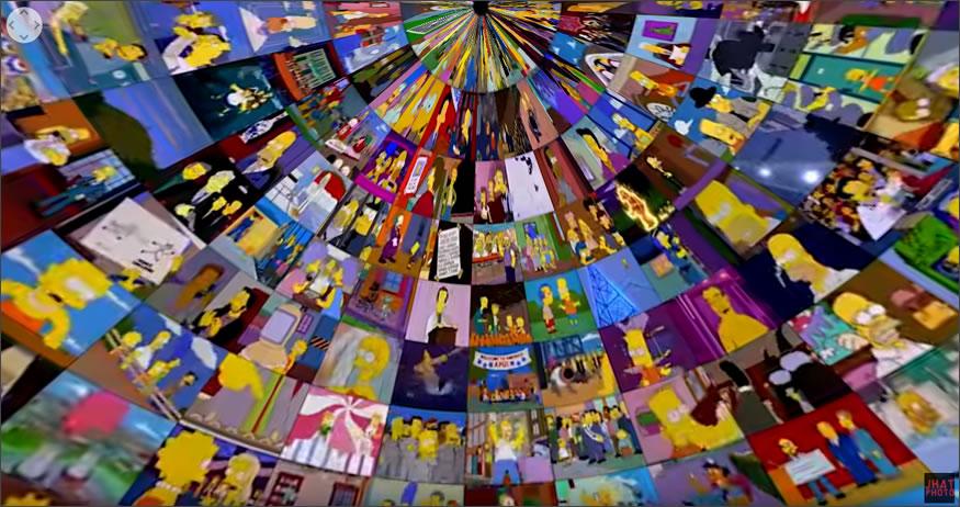 Los Simpsons en 360