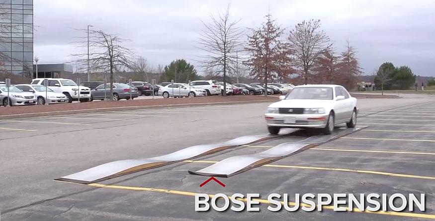 La increíble suspensión de Bose