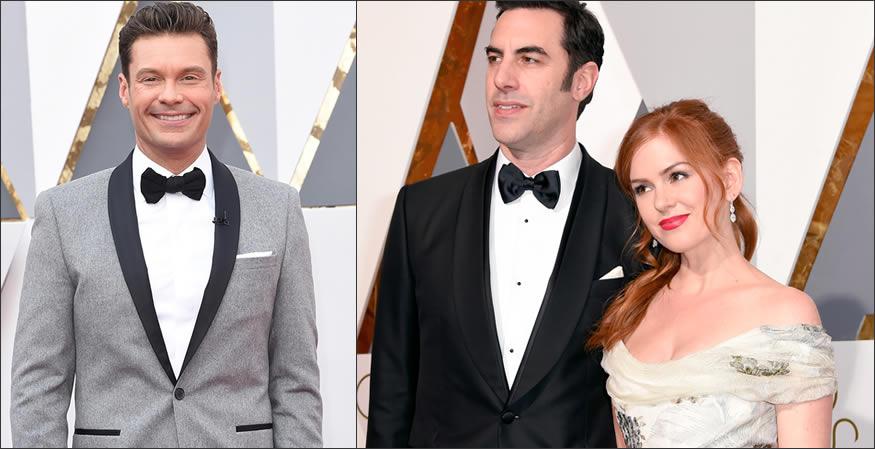alfombra roja de los Oscars 2016