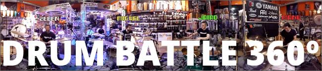Batalla de baterias en 360