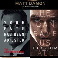 Plantilla para carteles de películas de Matt Damon