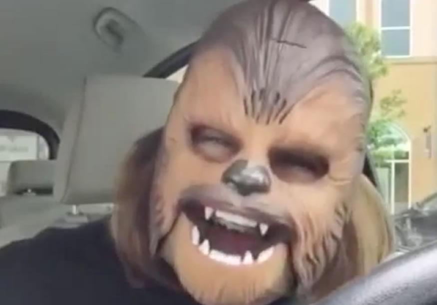 mascara-chewbacca