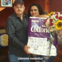 Aquí un romántico