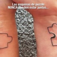 Tattoo puzzle del amor fail