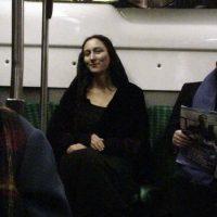 Un encuentro extraño en el metro…