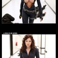 Scarlett Johansson de Black Widow